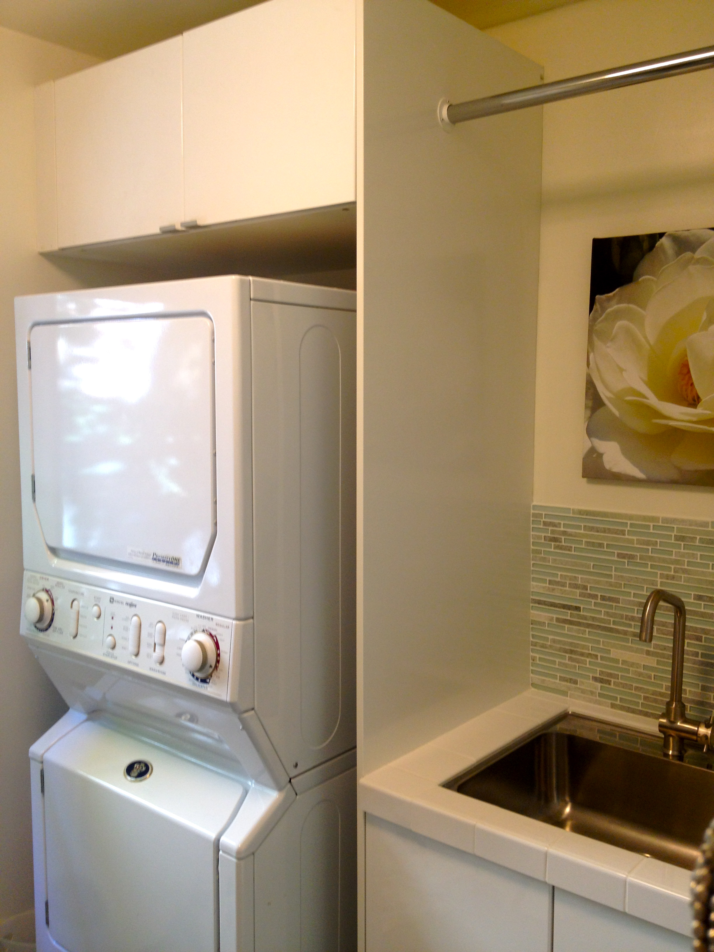 Deep Cabinets Over Washer Dryer