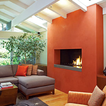 tomato bisque fireplace