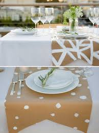 painted table runners