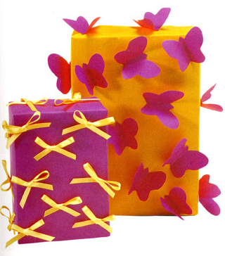 Birthday Gift Wrap Ideas Links Trace Style Create Live